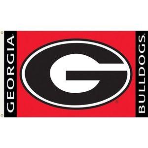 NCAA Georgia Bulldogs 3x5 Foot Flag with Grommets
